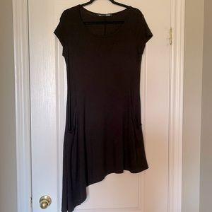 Rebel Sugar Asymmetrical T-Shirt Dress